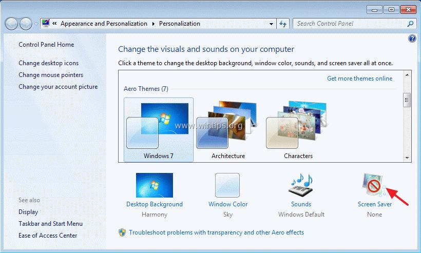 Windows   on resume display logon screen not working Domov
