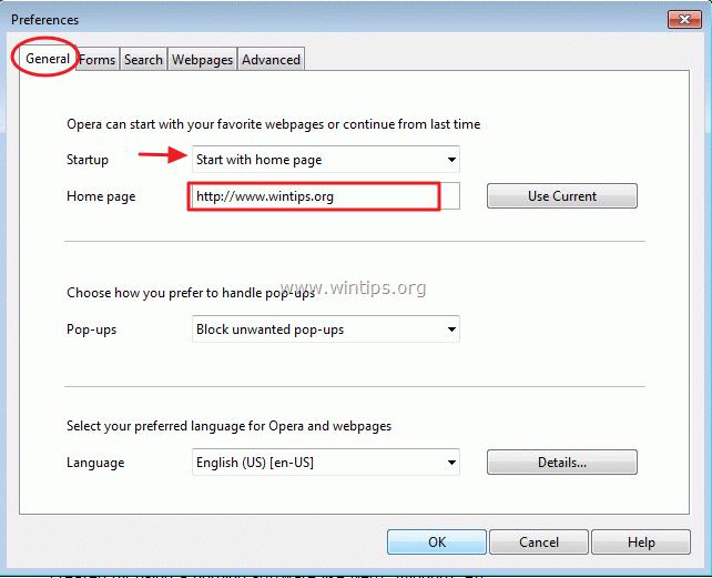 how to set preferences in harmony premium windows