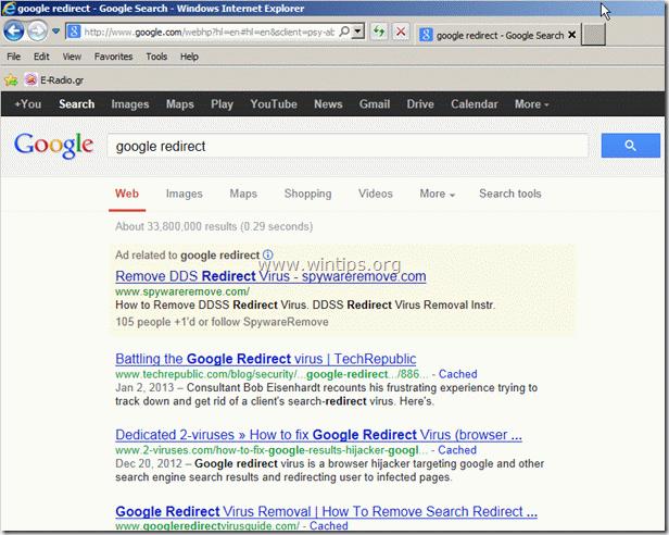 google-redirect