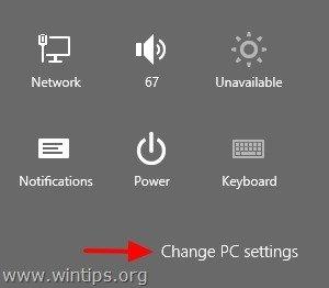 how to change user password in windows 8