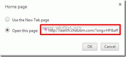 chrome - new tab