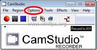camstudio options