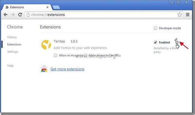 remove-yontoo-extension-chrome