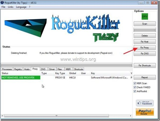 roguekiller fix proxy