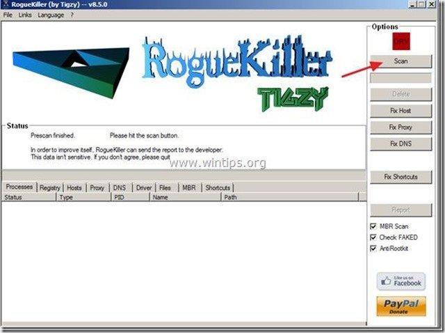 roguekiller scan