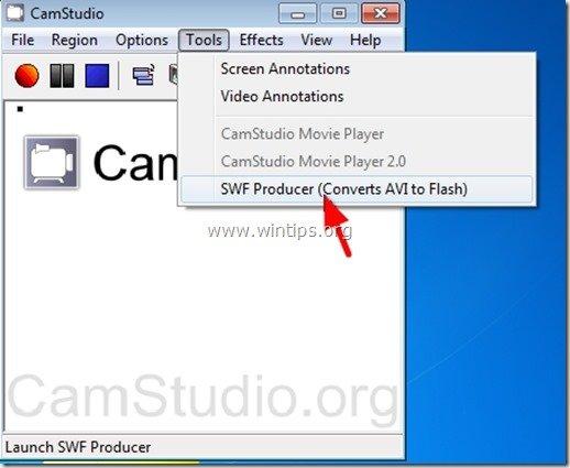 camstudio swf producer
