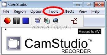 camstudio tools