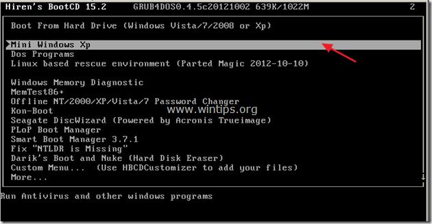 hiren boot cd password reset windows 8 free download