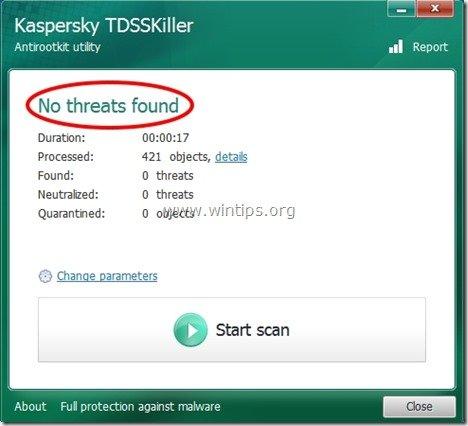 TDSSKiller log