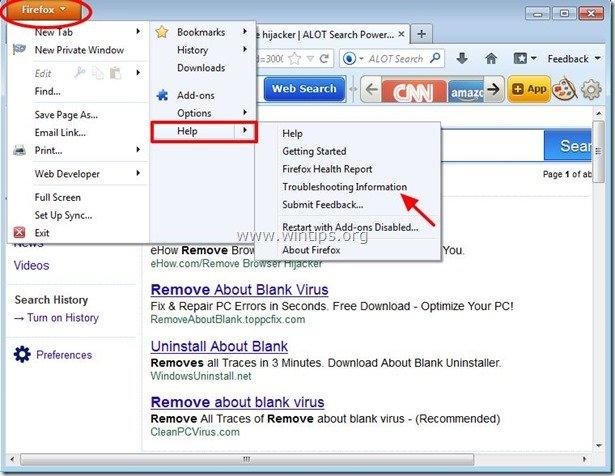 remove-alot-search-toolbar-firefox
