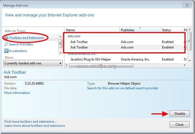 remove-ask-toolbar-internet-explorer