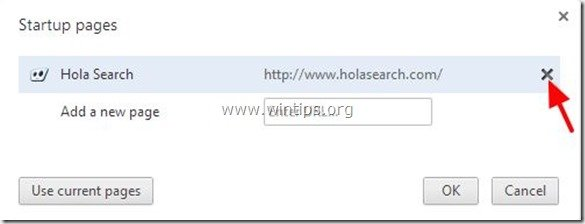 remove-hola-search-startup page-chrome