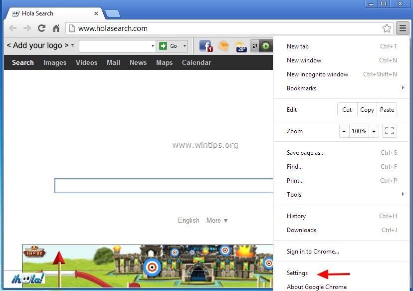 how to set google toolbar