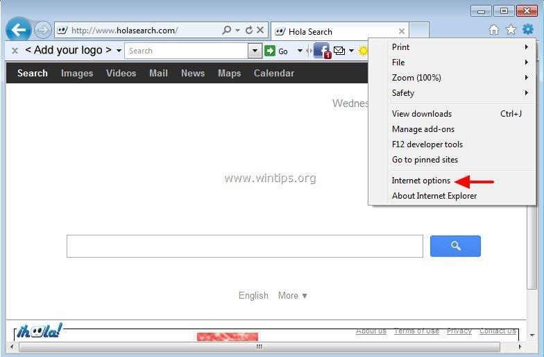 Conduit search remove from internet explorer