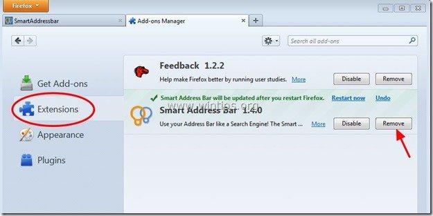 remove-smart-address-bar-extension-firefox