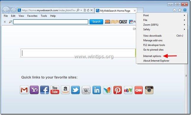 remove-utilitychest-internet-explorer