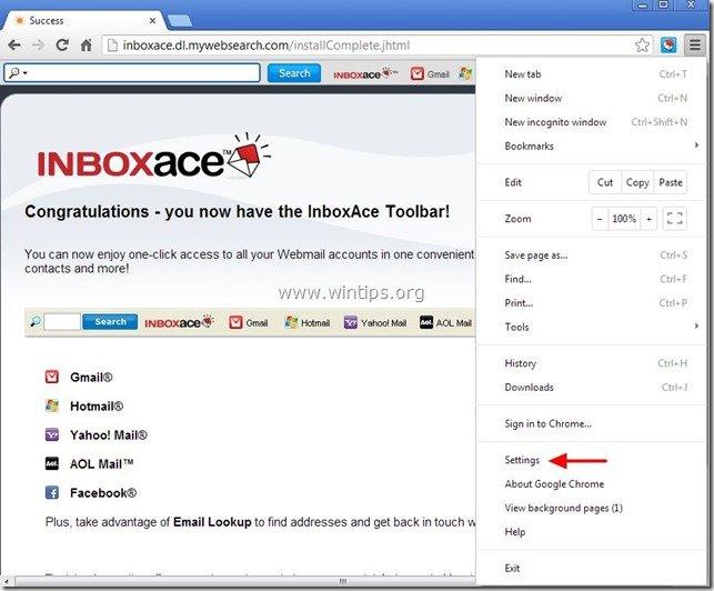 remove-inboxace-toolbar-chrome