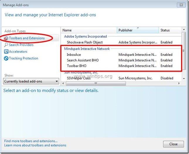 remove-inboxace-toolbar-internet-explorer
