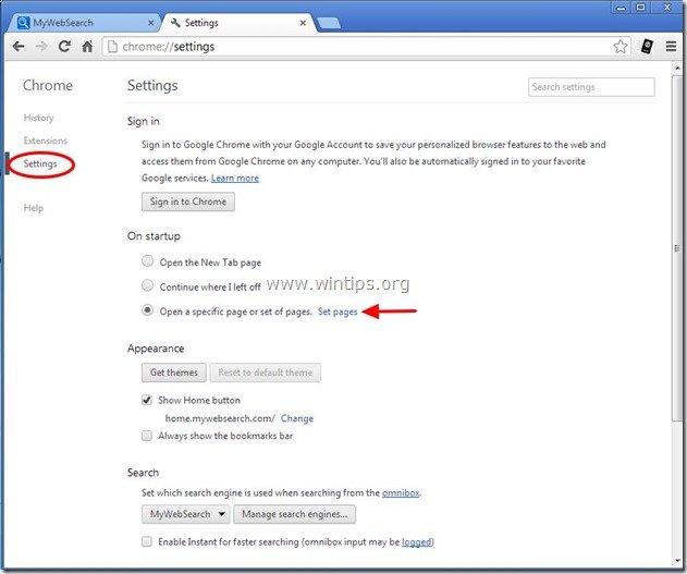 remove-mywebsearch-chrome