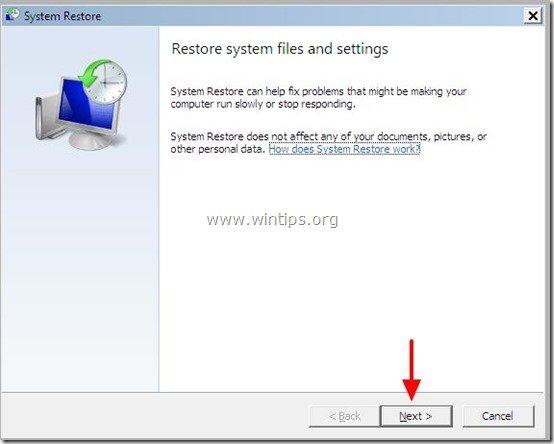 system-restore-1st-screen