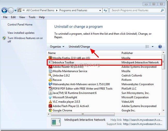 uninstall-inboxace-toolbar