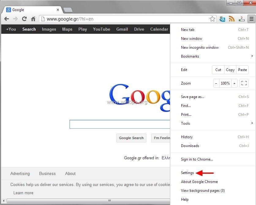 Chrome Config