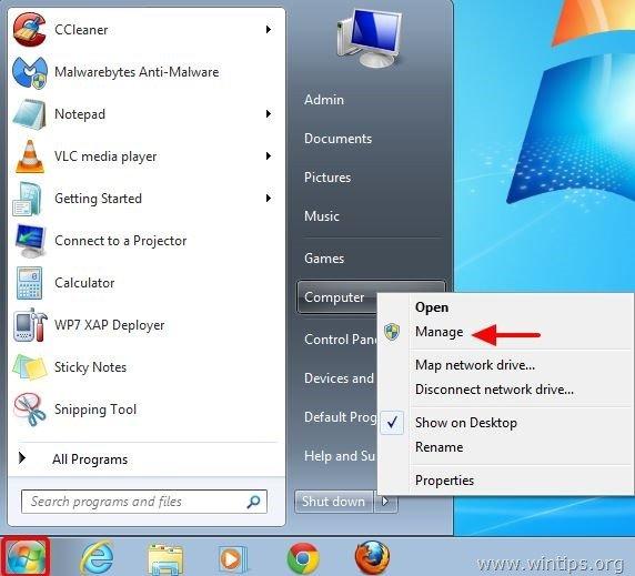 Windows 7 NOT shutdown completely problem – Solved - wintips
