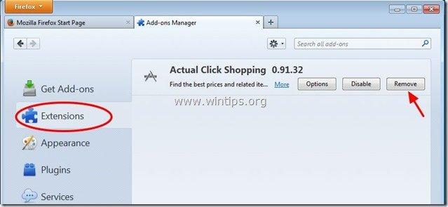 remove-actual-click-shopping-firefox