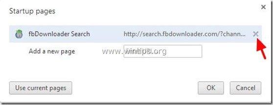remove-fbdownloader-page