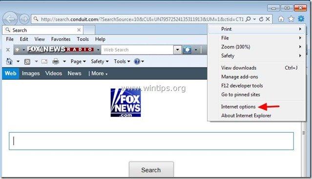remove-fox-news-toolbar-internet-explorer