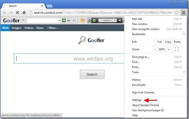 remove-goofler-net-chrome
