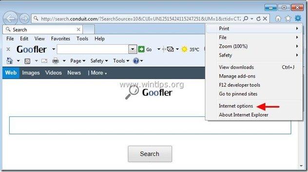 remove-goofler-net-internet-explorer