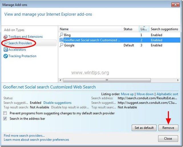remove-goofler.net-social-search-internet-explorer