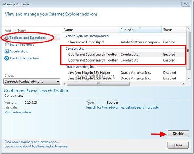 remove-goofler.net-toolbar