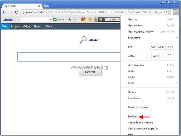 remove-internet-helper-chrome