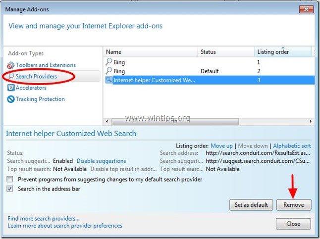 remove-internet-helper-search-engine