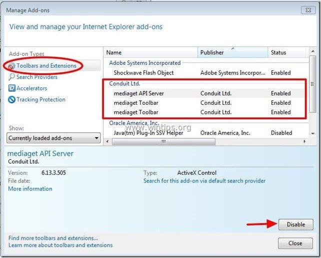 remove-mediaget-api-server