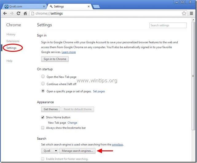 remove-qvo6.com-search-engine