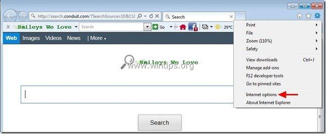 remove-smileys-we-love-toolbar-internet-explorer