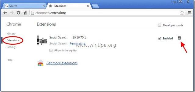 remove-social-search-toolbar-chrome