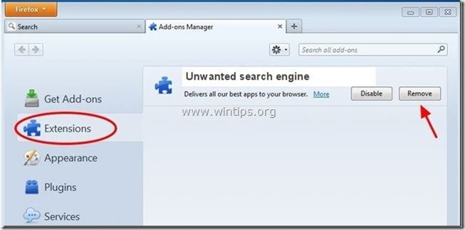 unwabted-search-engine-firefox