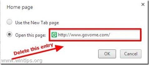 remove-govome.com-new-tab