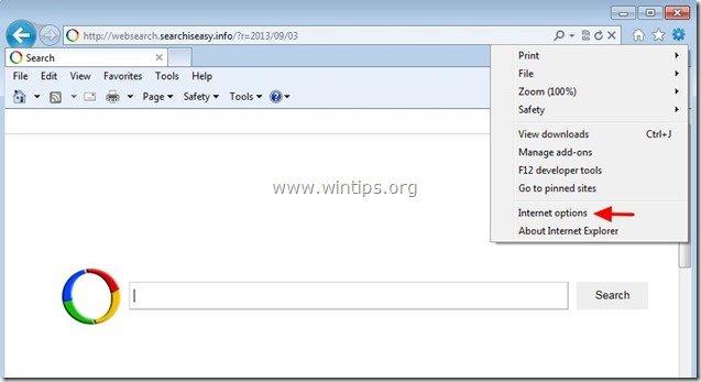 remove-searchiseasy.info-internet-explorer