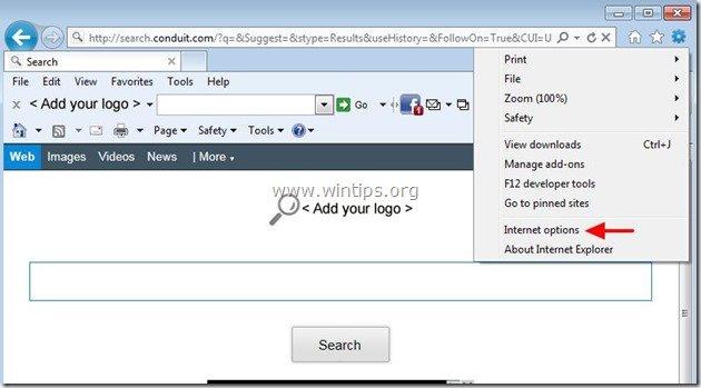 remove-totalrecipe-search-internet-explorer