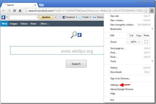 remove-vuze-toolbar-chrome