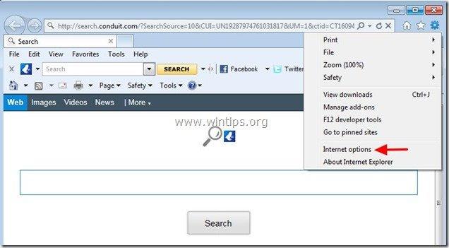 remove-vuze-toolbar-internet-explorer