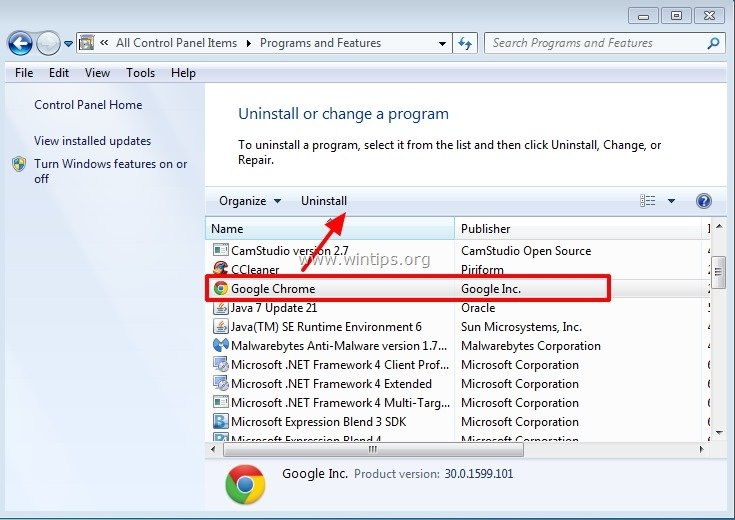 How To Fix Google Chrome Blank Page S Problem Wintips Org