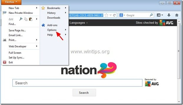 remove-avg-nation-toolbar-firefox