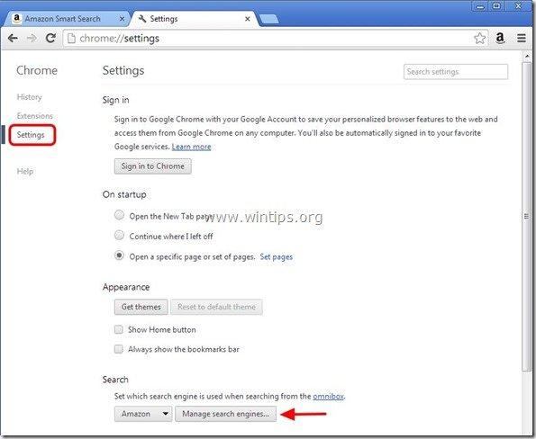 remove-amazon-search-engine-chrome