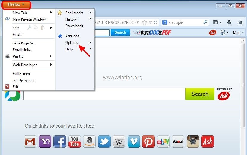 How to Delete an Unwanted Toolbar in Firefox: 7 Steps